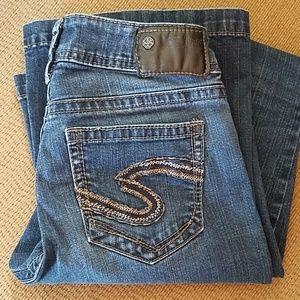 Silver Suki mid Flare jeans